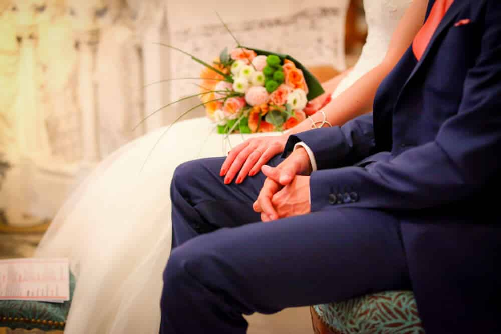 photo de mariage eglise