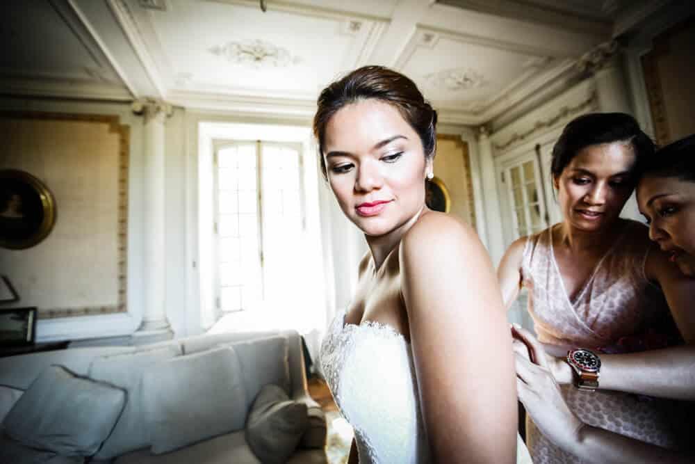 photo de mariage habillage